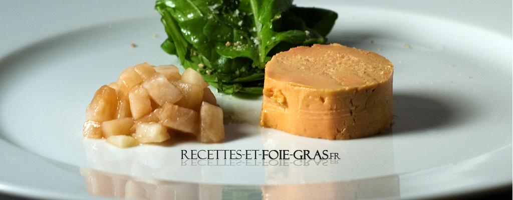 Recettes de foie gras
